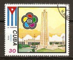 1978 - Festival Mondial De La Jeunesse Et Des étudiants - La Havane - PA N°297 - Airmail