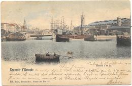 Souvenir D'Ostende NA60: Bassin I Et II 1900 - Oostende