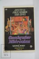 1966 Cinema/ Movie Advertising Leaflet - Any Wednesday - Jane Fonda,  Jason Robards,  Dean Jones - Publicité Cinématographique