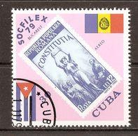 1979 - Socfilex 79 Bucarest - Timbre/Timbre - PA N°317 - Airmail
