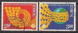 Norwegen  (1983)  Mi.Nr.  887 + 888  Gest. / Used  (3ee19) - Norwegen