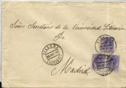 España Nº 270 En Sobre - 1889-1931 Kingdom: Alphonse XIII