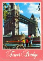 Angleterre - Londres - Tower Bridge - Photograph John Hinde - Kardorama Nº K60-B - Ecrite - 4126 - River Thames