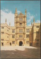 Schools Quadrangle, Bodleian Library, Oxford, Oxfordshire, C.1980 - Thomas Postcard - Oxford