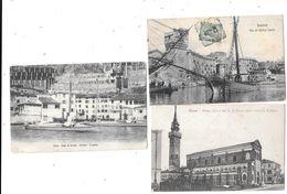 10410 - Lot De 3 CPA D'ITALIE : CUNEO, SAVONA, LIMONE - Sonstige