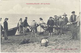 Cpa 34 – Valras-la-Plage – La Traîne - France