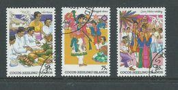 Cocos Keeling Island 1984 Malay Culture Set Of 3 FU - Cocos (Keeling) Islands