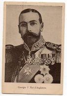 Famille Royale--Georges V ,roi D'Angleterre ---verso Uni Blanc - Familles Royales