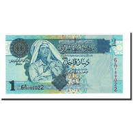 Billet, Libya, 1 Dinar, Undated (2004), KM:68b, NEUF - Libya