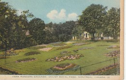 Park Rangers Grounds, Mount Royal Park, Montreal, Quebec - Montreal