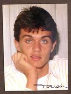 Sport Calcio - Fotografia Autografo Originale Di Paolo Maldini - 1986 Ca. - Autografi