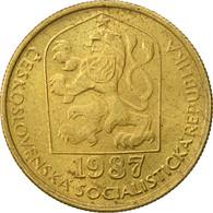 Tchécoslovaquie, 20 Haleru, 1987, TTB, Nickel-brass, KM:74 - Czechoslovakia