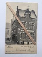 """JODOIGNE """"École Primaire St. Joseph «Belle Animation (1905)Édit Wilfart Sœurs ,Jodoigne. - Jodoigne"""