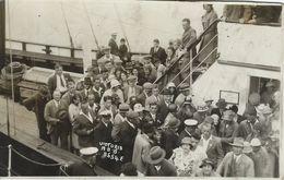 Passengers Leaving Ferryboat - Where?.    S-4174 - Postcards