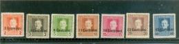1931 ERYTHREE Y & T N° 188 à 193 ( O ) Série Courante - Eritrea