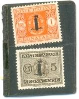 1944 ITALIE Y & T N° 1 ( * ) N° 9 ( X ) - 4. 1944-45 Social Republic