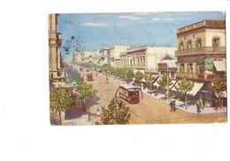 Cpa - Uruguay - MONTEVIDEO - CALLE DEL 18 DE JULIO - 1923 - Dentiste Tramway Animation - Uruguay