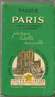 PLAN De PARIS Avec Index Des Rues.  TARIDE  Référence 307  (3eme Trimestre 1969) - Europe