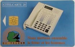 IVORY COAST - Telephone, Chip Delphic, Used - Côte D'Ivoire