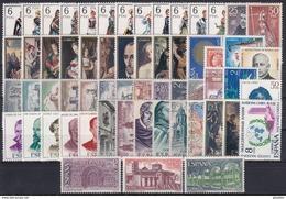 ESPAÑA 1970 Nº 1949/2007 AÑO NUEVO COMPLETO CON TRAJES,59 SELLOS - Spain