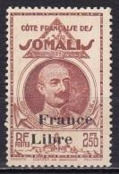Cote Des Somalis N°228* - Nuevos