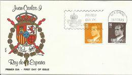 """España. 1980. Serie Básica. """"Juan Carlos I"""" Y Europa. - FDC"""