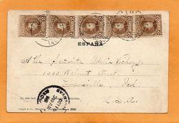 Spain Old Postcard Mailed - 1889-1931 Kingdom: Alphonse XIII