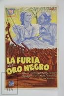 1937 Cinema/ Movie Advertising Leaflet - High, Wide, And Handsome - Irene Dunne,  Randolph Scott,  Dorothy Lamour - Publicidad
