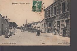CPA COUDDES (41) - Avenue De La Gare - Animée - Frankreich
