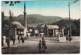 Sarajevo, Careva Džamija (Emperor's Mosque) Old Postcard Travelled 1964 B180103 - Bosnia And Herzegovina