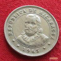 Nicaragua 25 Centavos 1965 KM# 18.2 - Nicaragua