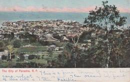 PANAMA 1907 CARTE POSTALE DE PANAMA - Panama