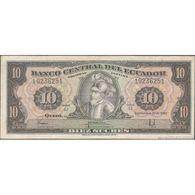 TWN - ECUADOR 114b2b - 10 Sucres 30.9.1982 LI 19236251 FINE - Cambogia