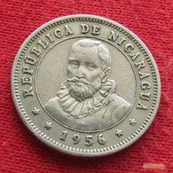 Nicaragua 25 Centavos 1956 KM# 18.1 - Nicaragua
