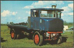 Sentinel Steam Waggon No 8571 At Pirton Rally - FW Pawsey Postcard - Trucks, Vans &  Lorries