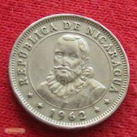 Nicaragua 10 Centavos 1962 KM# 17.2 - Nicaragua