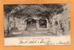 Castel Gandolfo Italy 1900 Postcard - Altre Città