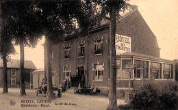 Rendeux (Haut) - Hôtel Lecoq, Arrêt Du Tram (animée, Oldtimer) - Rendeux