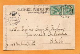 Italy Postcard Mailed - Storia Postale