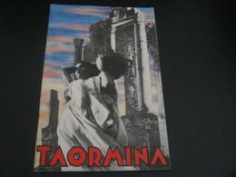 LIBRETTO TAORMINA -ENTE NAZIONALE PER LE INDUSTRIE TURISTICHE 1937 - Dépliants Turistici