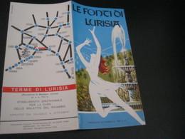 DEPLIANT LE FONTI DI LURISIA - Dépliants Turistici