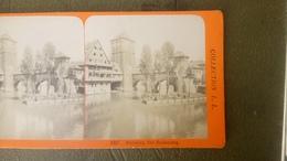 Photo Stéréoscopique  Allemagne Nuremberg Nurnberg - Stereoscopic