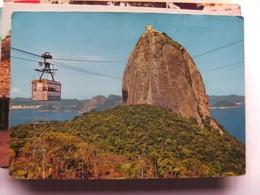 Brazilië Brasil Brasilia  Rio De Janeiro Pao De Acucar Com Bandinho - Rio De Janeiro