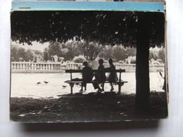 Women On A Banque Where ? - Postkaarten