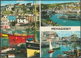 Multiview, Mevagissey, Cornwall, C.1982 - John Hinde Postcard - England