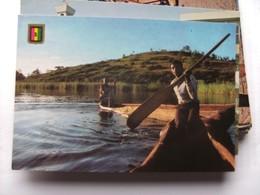 Rwanda Lac Muhazi Canoo - Rwanda