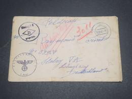 ALLEMAGNE - Enveloppe Pour Stalag VA En 1941 - L 12526 - Allemagne