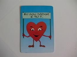 Blood Donors Donneurs De Sang Dadores De Sangue Portugal  Portuguese Pocket Calendar 1992 - Calendars