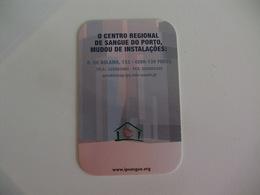 Blood Donors Donneurs De Sang Dadores De Sangue Portugal  Portuguese Pocket Calendar 2005 - Calendarios