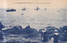 Concarneau La Rade Un Jour De Regates   1929 - Concarneau